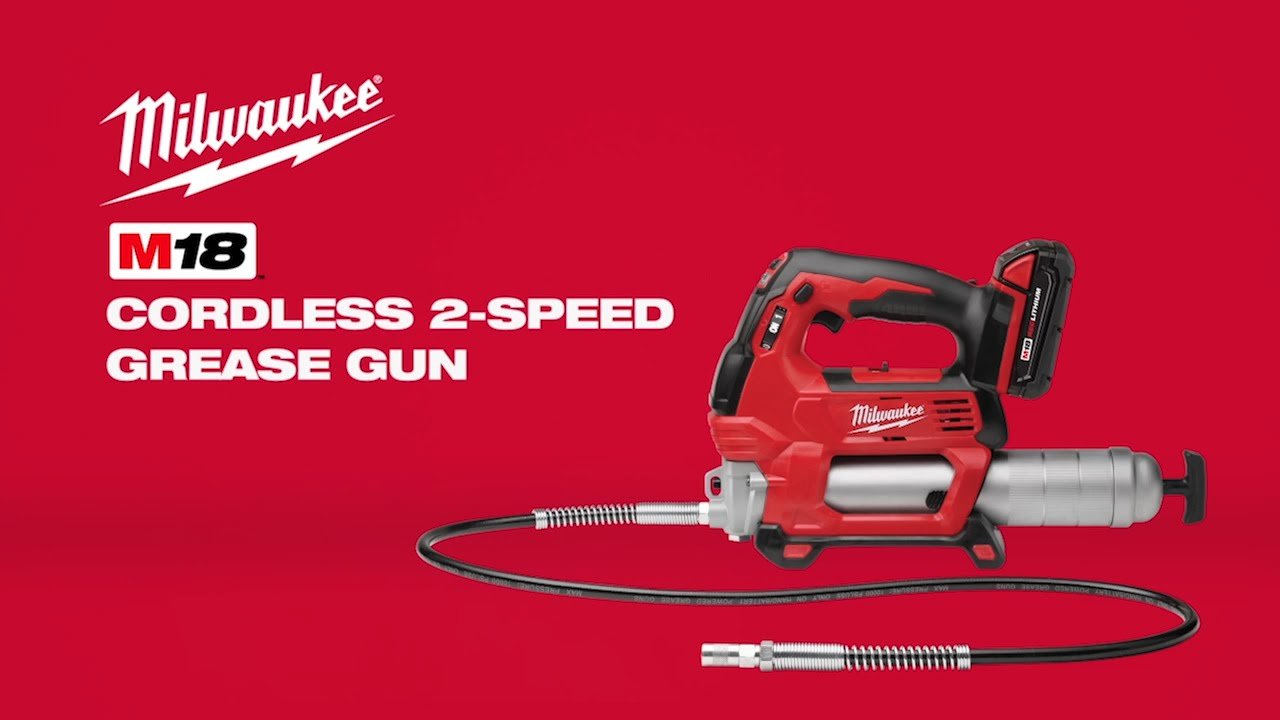 Cordless Battery Powered Grease Guns No Longer Only For The Professional